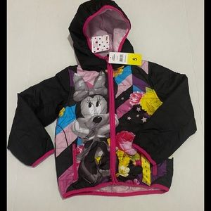 COPY - Disney Minnie Mouse Girl's Puffer Jacket 5